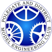 Polegate and District Model Engineering Club logo